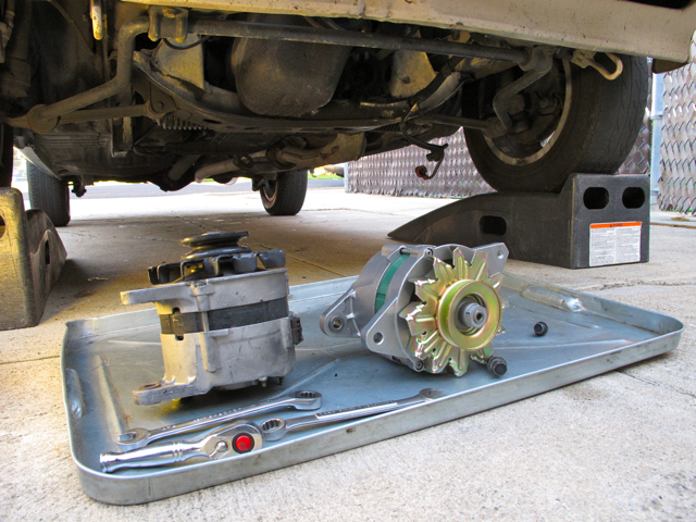 How Much To Replace Alternator >> Remove And Replace An Alternator Clunkbucket