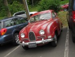 Parking Lot Saab 96