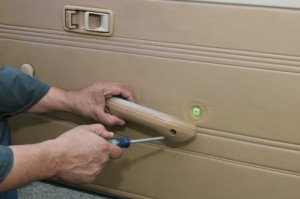 The first step is to remove everything connected to the door on top of the panel. Window cranks, armrests, and anything else with roots in the door. Scour for every screw and clip. Finding the fasteners can be tricky.